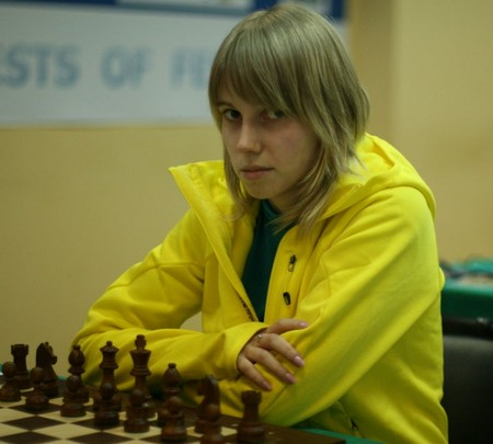 Dina Drozdova became Moscow Women Champion 2012
