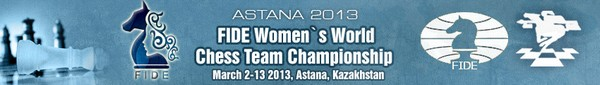 Women's World Chess Team Championship 2013 Online