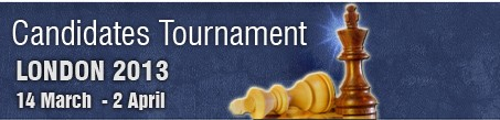 Candidates Tournament 2013 Online. London