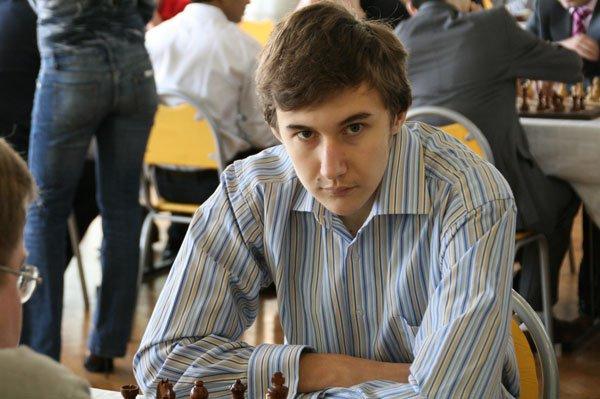 Sergey Karyakin chess child prodigy