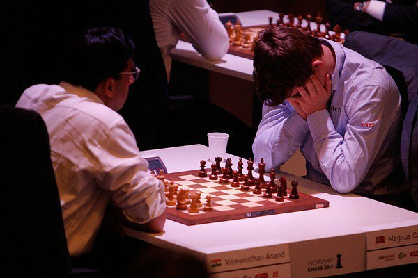 Anand and Carlsen on Supreme Masters 2013