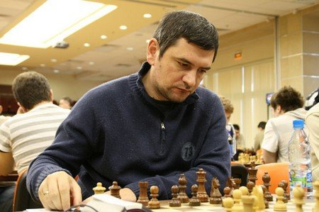 Grand Master from Moldova Viorel Bologan