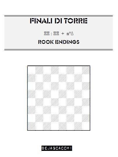 100 Finali di torre (rook endings in chess) - download book