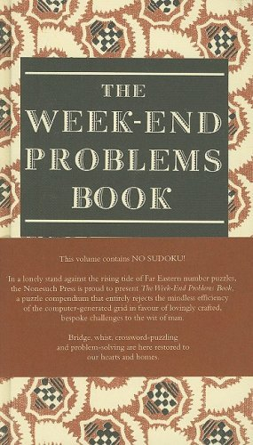 The Week-End Problems Book - download book