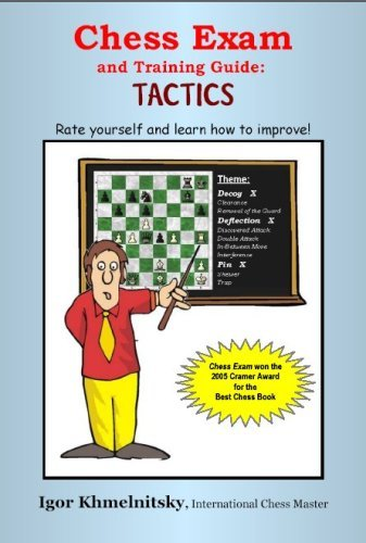 Chess Exam and Training Guide: Tactics: Rate Yourself and Learn How to Improve