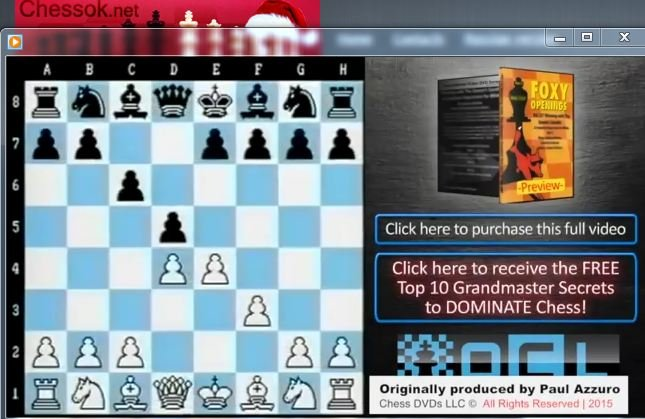 Caro-Kann Defence (1.e4 c6 2.d4 d5 3.f3!) - download video