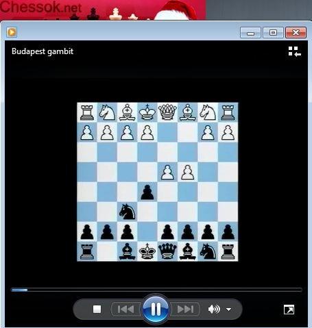 Budapest gambit (defense) - download video