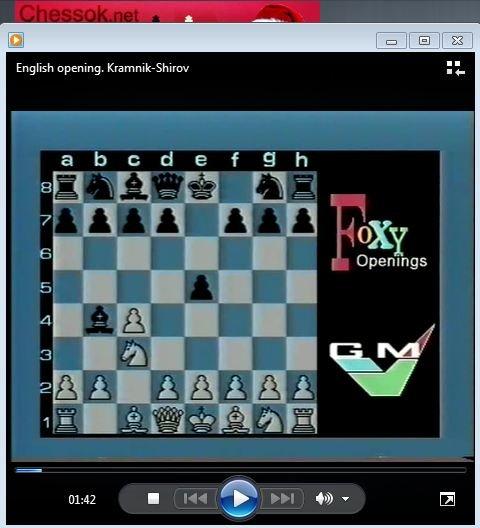 English opening. Kramnik-Shirov - download video