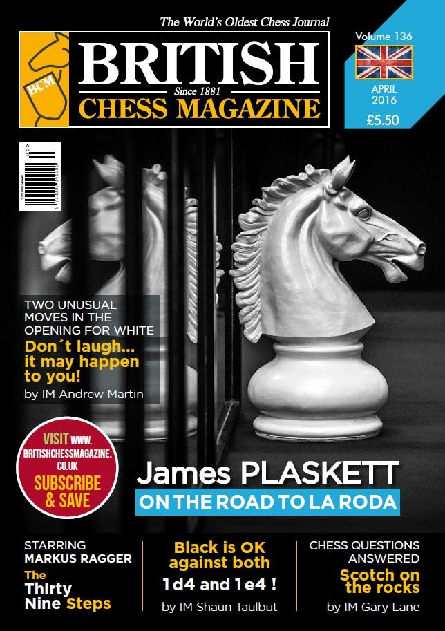 British Chess Magazine - April 2016 - download