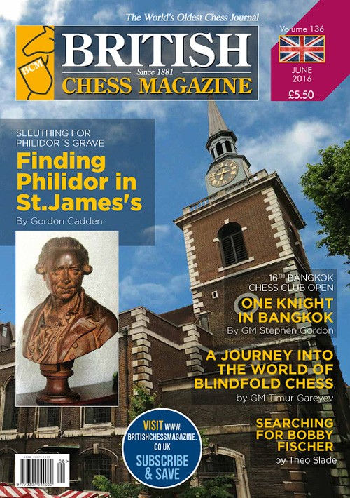 British Chess Magazine - June 2016 - download