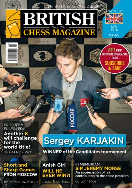 British Chess Magazine - May 2016 - download