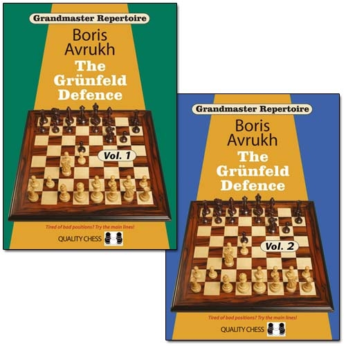 Grandmaster Repertoire 8: The Grunfeld Defence, Vol. 1,2 - download book