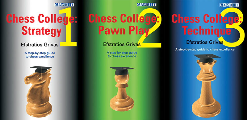 Chess College: Strategy, Pawn Play, Technique - download book, vol. 1,2,3