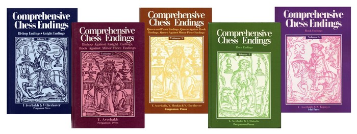 Comprehensive Chess Endings Vol. 1, 2, 3, 4, 5