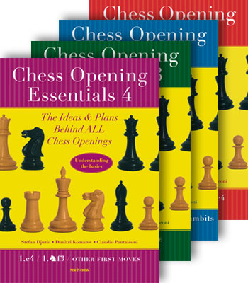 Chess Opening Essentials, vol. 1,2,3,4 — download book