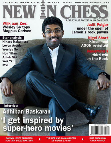 New In Chess Magazine 2017 №2 (Baskaran Adhiban)