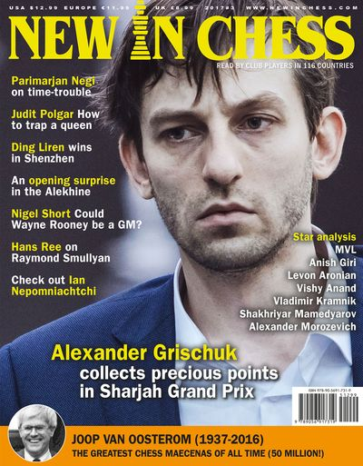 New In Chess Magazine 2017 №3 (Alexander Grischuk)