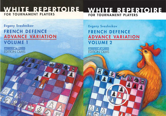 French Defence Advance Variation: Volume 1 and 2