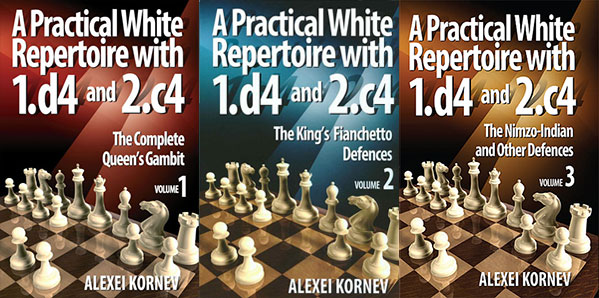 A Practical White Repertoire with 1.d4 and 2.c4, Vol. 1-3