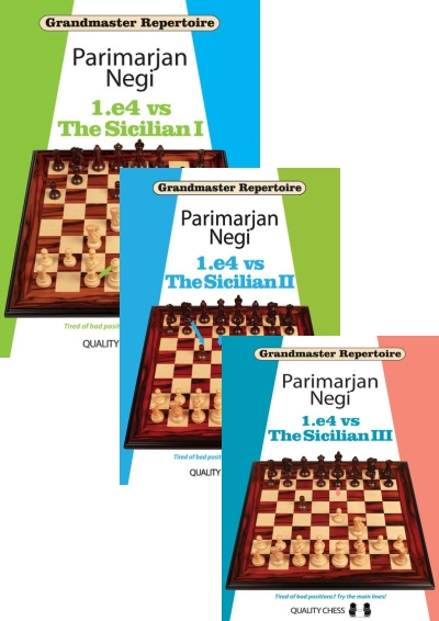 Grandmaster Repertoire: 1.e4 vs The Sicilian, Vol. I, II, III