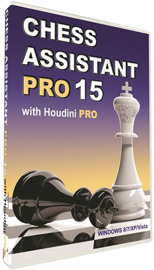 Chess Assistant 15 PRO with Houdini 4 PRO