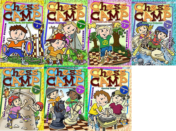 Chess Camp: Vol. 1-7 PDF