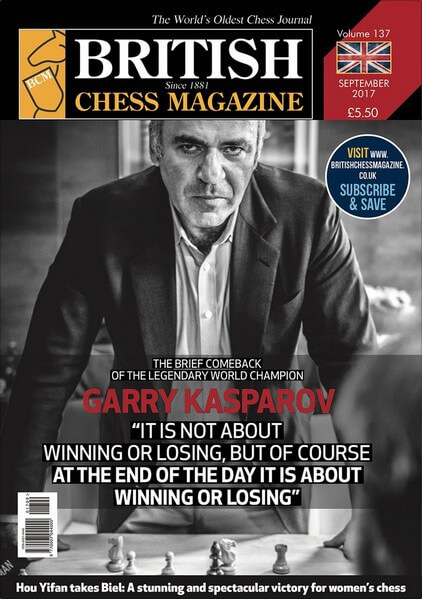 British Chess Magazine – September 2017