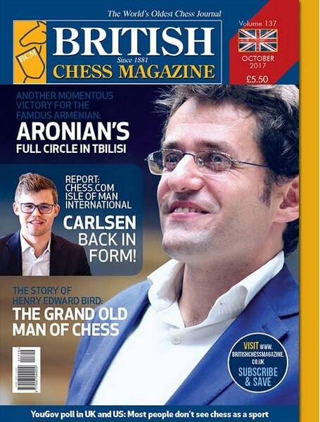British Chess Magazine – October 2017