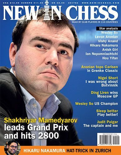 New In Chess Magazine 2017 №04 (Mamedyarov)