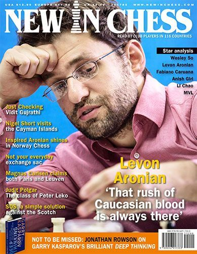 New In Chess Magazine 2017 №5 (Levon Aronian)