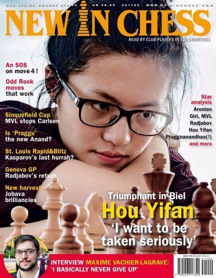 New In Chess Magazine 2017 №6 (Hou Yifan)