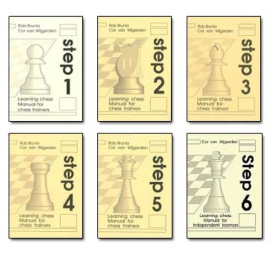 Manual for Chess Trainers Step 1, 2, 3, 4, 5, 6