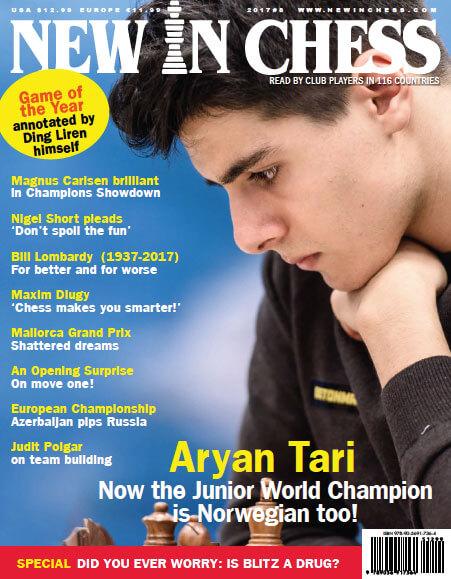 New In Chess Magazine 2017 №8 (Aryan Tari)
