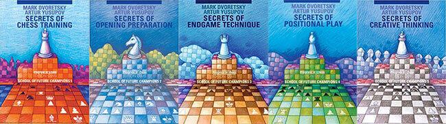 School of Future Chess Champions, Vol 1-5, Dvoretsky