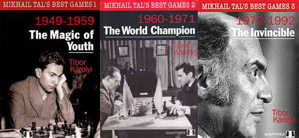 Mikhail Tal's Best Games 1, 2, 3