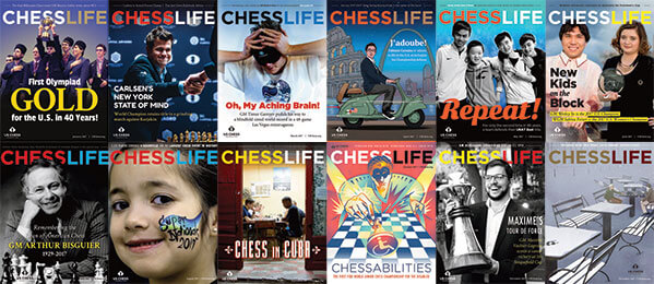 Chess Life Magazine №1-12, 2017