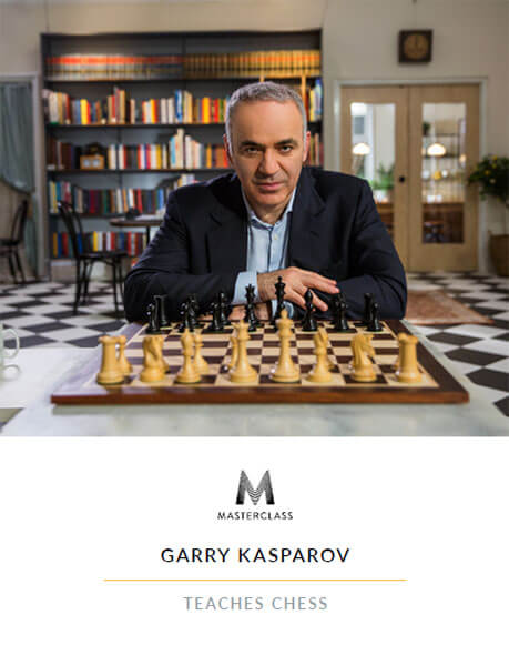 Garry Kasparov Teaches Chess