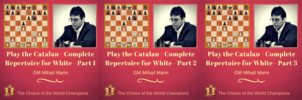 Play The Catalan: Complete Repertoire for White, Part 1, 2, 3