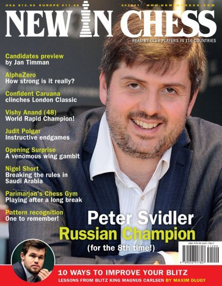 New In Chess Magazine 2018 №1 (Peter Svidler)