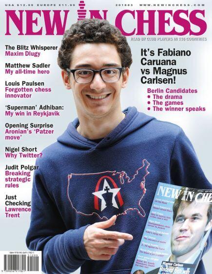 New In Chess Magazine 2018 №3 (Fabiano Caruana)