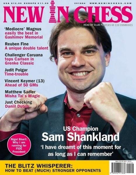 New In Chess Magazine 2018 №4 (Sam Shankland)