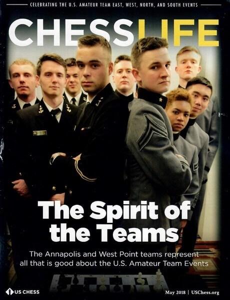 Chess Life Magazine May 2018