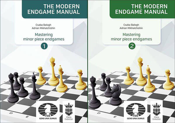 The Modern Endgame Manual - Mastering Minor Piece Endgames - Vol. 1, 2