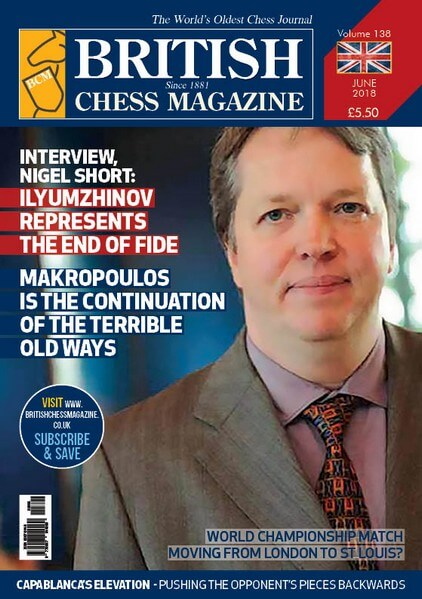British Chess Magazine - June 2018