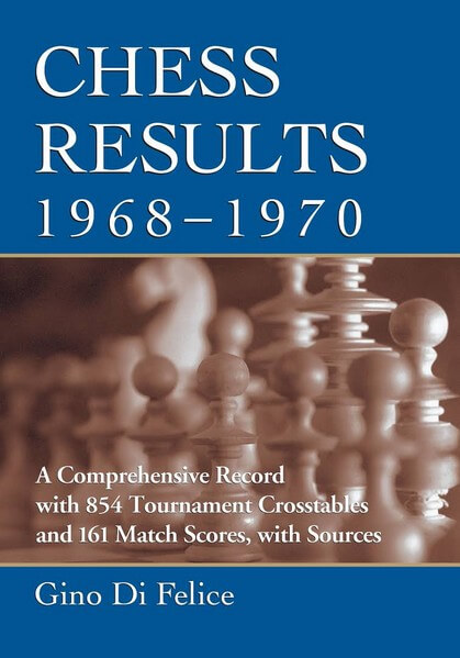 Chess Results, 1968-1970