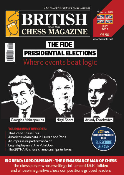 British Chess Magazine - July 2018