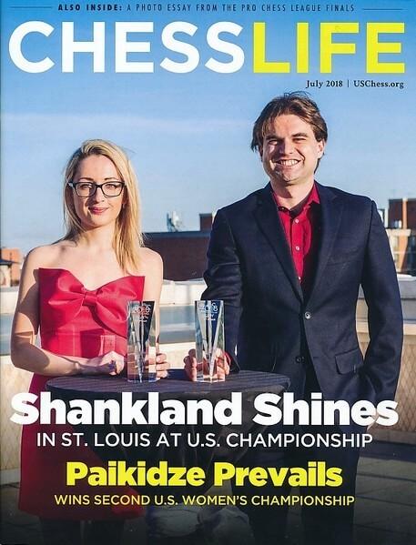 Chess Life Magazine July 2018