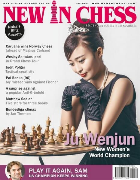 New In Chess Magazine 2018 №5 (Ju Wenjun)