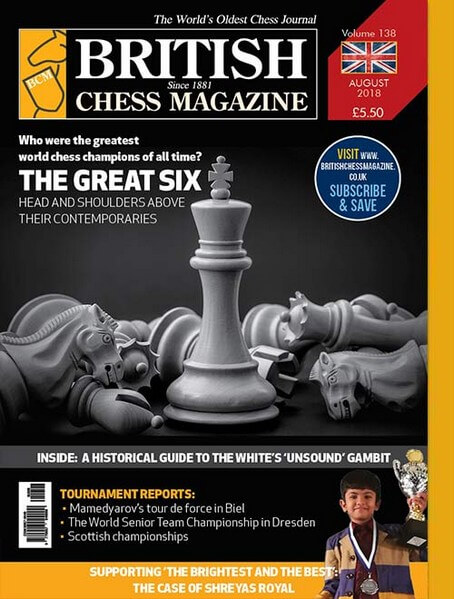 British Chess Magazine - August 2018