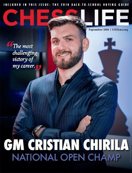 Chess Life Magazine September 2018